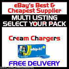 N2O NOS NOZ Nitrous Oxide Cream Chargers + Dispensers / Whippers - FREE DELIVERY