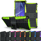 Heavy Duty Rugged Impact Armor Hybrid Case Cover Skin For Sony Xperia Z3 D6653
