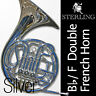 More images of Silver-Plated • Bb / F Double FRENCH HORN • STERLING Pro Quality • Brand New •