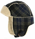 Timberland Plaid Trapper Hat Mens Unisex Hat (J1530 434) UW