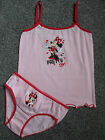 Minnie Mouse Vest and Knickers Set  NEW WITH TAGS  pink