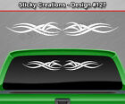 Design #127 Tribal Accent Windshield Decal Rear Window Sticker Vinyl Graphic SUV