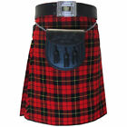 Tartanista Wallace Red 5 Yard 10 oz Scottish Kilt (Formal & Everyday) 30 - 54