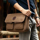 Cheap Men's Canvas Shoulder Messenger Chic Hiking Bag Backpacks Briefcase Newest