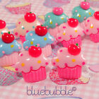 FUNKY CUP CAKE EARRINGS SWEET MUFFIN BAKING CUTE KITSCH RETRO KAWAII JUNK FOOD