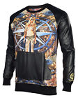 Sex Money Weed Men's The Four Winds Crew Sweatshirt-Black/Multi
