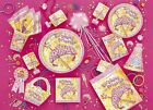 PRETTY PRINCESS Birthday PARTY ITEMS (Girl) Tableware Balloons & Decorations
