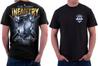 US Army Infantry Locked & Loaded T-Shirt S M L XL XXL XXXL