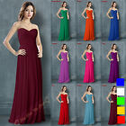 Long Bridesmaid Dresses Prom Party Evening Formal Gowns Size 6 8 10 12 14 16-26