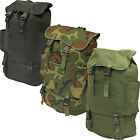 Nitehawk 40L Military Drawstring Rucksack/Backpack With Cool Bag Compartment