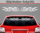 Design #154 Tribal Weave Windshield Decal Rear Window Sticker Vinyl Graphic Car