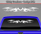 Design #159 Tribal Spikes Windshield Decal Window Sticker Vinyl Graphic Banner