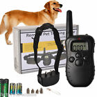 Remote LCD 100LV 300Meter Electric Shock Vibrate Pet Dog Training Collar Goplus