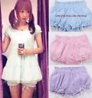 4 Colors Sweet Vivi Cute Dolly Gothic Punk Lolita Puffy BOWS Hip Bloomer Shorts