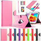 360 Rotating PU Leather Case Cover For Samsung Galaxy Tab 4 10.1 SM-T530 Tablet