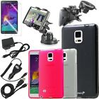 Frosted Matte Thin Soft TPU Gel Case Cover Accessories For Samsung Galaxy Note 4
