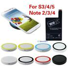 Qi Wireless Charging Pad + Receiver Card for Samsung Galaxy S3 4 5 Note 2 3 4 BS
