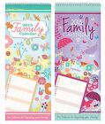 LARGE FAMILY ORGANISER CALENDAR 2015 (Month to View) - Choice of Designs