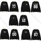 Bigbang GD TOP O-neck Hoodie G-Dragon Sweater Hoody Sweatershirt New Style