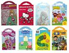 Kids Character CARRY PACKS (Stickers/Colouring/Creative/Gift/Xmas)ALLIGATOR