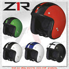 Z1R Jimmy Retro 2 Street Open Face Motorcycle DOT Helmet