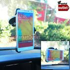 Car/SUV Front Windshield Mount Holder Fit Samsung Galaxy Note 4 Edge/S-Series