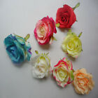 Wholesale 5 10 20pcs rose wedding flower decoration 7 colors to choose from