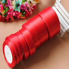 Free Shipp 1pc red ribbon wedding decoration craft sewing various size selection