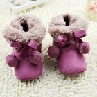 Noble Baby boots girl  Fuchsia Snow winter Soft bottom Shoes 3-6-9-12 months
