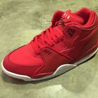 NEW NIKE AIR FLIGHT 89 UNIVERSITY RED LEATHER MEN SPORTS SHOES 306252-601