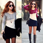 NEW Women Winter Knitted Jumper Sweater Tops Pullover Dress Knit Top Size 8-20