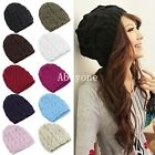 New Fashion Lady Womens Warm Winter Beret Beanie Knit Knitted Hat Cap 8 Colors