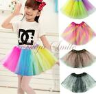 Girls Toddler Cute Chiffon Tutu Skirt Pettiskirt Party Ballet Dress Dance Wear