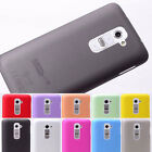 Ultra-thin slim business Matte fog Protector Case Cover Skin for LG G2 D801 D802