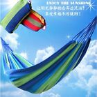 Outdoor Camping Travel Hammock Canvas Cotton Sleeping Bed Hanging Chair Portable