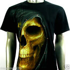 RC Survivor T-Shirt Biker Skull Rider Tattoo Rock mma WB154 Sz M L XL XXL XXXL