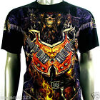 RC Survivor T-Shirt Sz M L XL 2XL 3XL Rock Guitar Music Skull Demon Tattoo C153