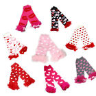 VALENTINE HEART PRINTS cotton leg warmer legging sock tight baby girl clothing