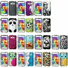 For Samsung Galaxy Core Prime Boost Mobile Hard Rubber Shell Back Case Cover