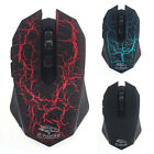 1PC 3200 DPI Wireless Optical Silent Gaming Mouse For PC Laptop Gamer