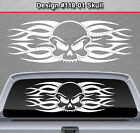 Design #118-01 SKULL Rear Window Decal Sticker Vinyl Graphic Tribal Spikes Truck