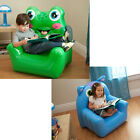 Kid's Cute Animal Frog Owl Shaped Bestway Inflatable Sofa Chair Seat Game Lounge