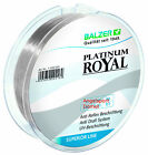 BALZER - PLATINUM ROYAL ANTI DRALL = 300m High Tech Monofile Schnur ab 0,18mm