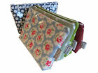 HANDMADE OIL CLOTH MAKE-UP BAG IN VARIOUS CATH KIDSTON OILCLOTHS & OTHER DESIGNS
