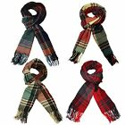 ITZU Apparel Co Luxurious Soft Feel Multi Check Plaid /.Tartan Scarf
