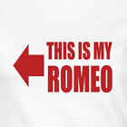 Funny T-shirt For Ladies Women Wifes This Is My Romeo And Juliet All Sizes