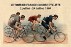 1904 Tour de France Bicycle Bike Race France French Vintage Poster Repro FREE SH