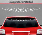 Design #101-01 STARDUST Windshield Decal Window Sticker Vinyl Graphic Star Dust