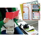 Manual Weave Journey Long Passport Cover Case Wallet Pocket Holder Keeper Bag