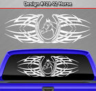Design #129-02 Horse Horseshoe Rear Window Decal Sticker Vinyl Graphic Tribal